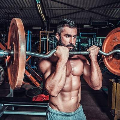BODYBUILDER, WEIGHTS, MUSCLES, STRENGTH, GYM, WORKOUT, BICEPS, CHEST, BARBELL