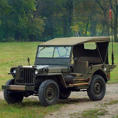JEEP, ARMY, SHOVEL, AXE, LIGHTS, STAR, WHEELS, CANOPY, MILITARY, GRASS, GRILLE, VEHICLE