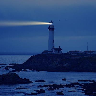 COAST, WARNING, BEACON, OCEAN, LIGHTHOUSE, BEAM, SIGNAL, NIGHTTIME, LANTERN, DANGER