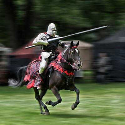 JOUST, LANCE, HORSE, MEDIEVAL, MAN, KNIGHT, HELMET, GALLOP, CHAINMAIL, RIDER