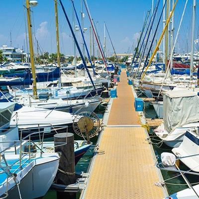 MARINA, BOATING, MASTS, PORT, SKY, YACHTS, RIGGING, MOTORBOATS, MOORINGS, WHARF
