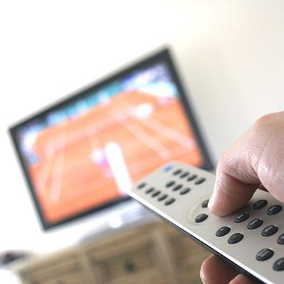REMOTE, CHANNELS, NEWS, FLATSCREEN, THUMB, TELEVISION, CONTROL, HAND, BUTTONS, MOVIES