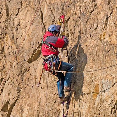 CLIMBER, ROCKFACE, HANDHOLD, SAFETYROPE, SHOES, EQUIPMENT, CLIFF, HARNESS, DANGER, HELMET
