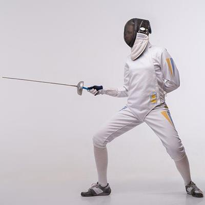 FENCING, RAPIER, DUELLING, WHITE, ENGARDE, MASK, TRAINING, SWORD, COSTUME, SHOES