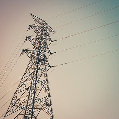 PYLON, CABLES, VOLTAGE, TOWER, WIRES, ENERGY, STEEL, GRID, POWER, ELECTRICITY, DANGER