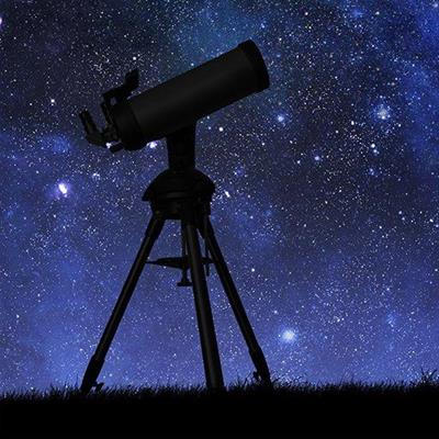 INSTRUMENT, TRIPOD, LENSES, COSMOS, ASTRONOMY, SCIENCE, TELESCOPE, STARS, SKY