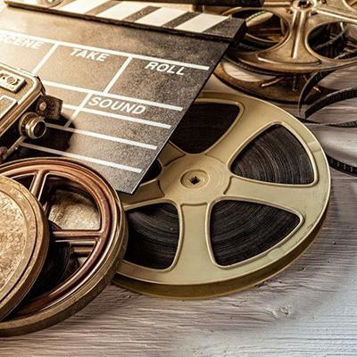 REEL, CAMERA, ACETATE, SPOOL, CINEMA, MOVIE, ROUND, CASE, CLAPPERBOARD, FILM, CELL, WHEEL