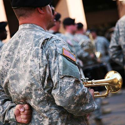 MILITARY, BAND, UNIFORM, BRASS, PARADE, MUSICIAN, TRUMPET, MARCH, CEREMONY