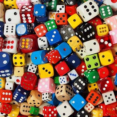 DICE, DOTS, NUMBERS, GAME, POKER, LUCKY, SIX, CUBES, GAMBLING, ROLL, SIDES, YELLOW