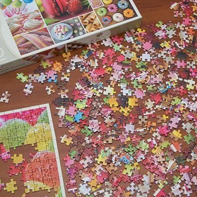 JIGSAW, PIECES, CARDBOARD, GAME, COMPLETION, SOLVE, FIT, PUZZLE, SHAPES, PICTURE