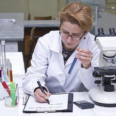 SCIENTIFIC, RESEARCH, TESTTUBE, RESULT, NOTES, MICROSCOPE, PEN, BENCH, LAB, WHITECOAT