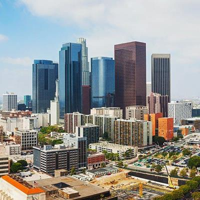 CALIFORNIA, PANORAMA, SKYSCRAPERS, DOWNTOWN, WEST, LOSANGELES, AMERICA, CITY