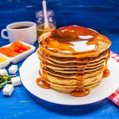 MAPLESYRUP, BREAKFAST, COFFEE, PANCAKES, STACK, BRUNCH, SUGARCUBE, FRIED