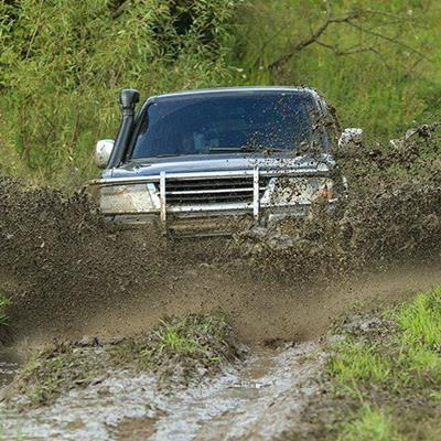 VEHICLE, DRIVING, PUDDLE, COUNTRYSIDE, TRACK, OFFROAD, MUD, EXTREME, DIRT