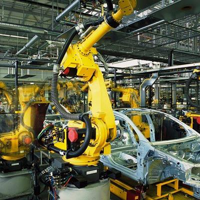 FACTORY, BUILD, PRODUCE, MECHANICAL, ARM, ROBOT, CAR, ASSEMBLY, WELDING, STEEL