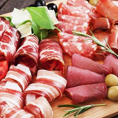CHARCUTERIE, MEATS, HAM, ANTIPASTO, DELI, PANCETTA, OLIVES, ITALIAN, SAUSAGE, CURED