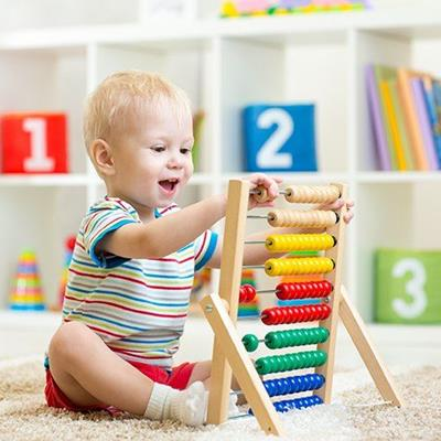 CHILD, CHEERFUL, EDUCATION, ABACUS, BEADS, TOY, COUNTING, TODDLER, TSHIRT, NUMBERS, FUN