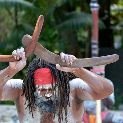 BOOMERANG, AUSTRALIA, TRIBE, DANCE, ABORIGINE, CULTURE, PAINT, NATIVE, MALE, SHOW