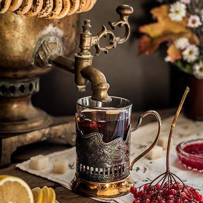 BERRIES, BOILER, SPOUT, TAP, HANDLE, ENGRAVING, FLOWERS, GLASS, LEMON, SUGAR, TEA