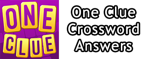 One Clue Crossword respuestas